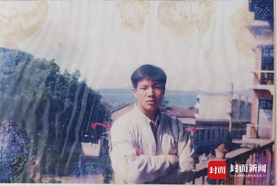 入狱前的温海萍(受访者供图)